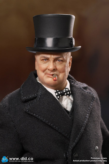 【DID】XK80002 1/12 PALM HERO Prime Minister of United Kingdom - Winston Churchill イギリス首相 ウィンストン・チャーチル