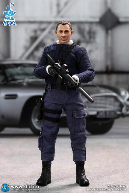 【DID】XM80003 1/12 PALM HERO MI6 Agent