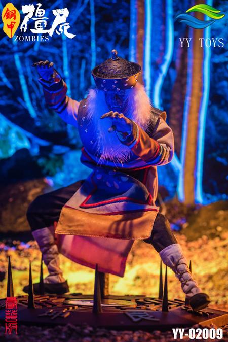 【YY TOYS】YY-02009 1/6 Copper Armor Zombie Action Figure Deluxe Version チャイニーズ ヴァンパイア 銅甲キョンシー デラックス版