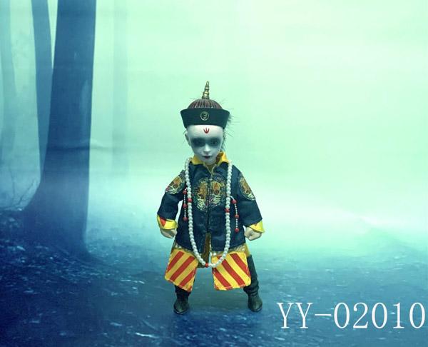 【YY TOYS】YY-02010 1/6 small zombies チャイニーズ ヴァンパイア キョンシー 子供 少年 1/6スケール男児フィギュア