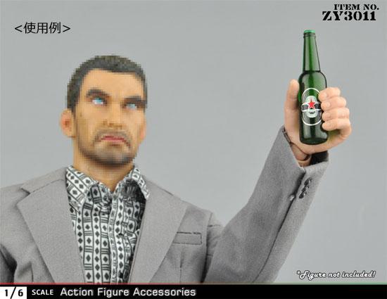【ZYTOYS】ZY3011AB 1/6スケール ジュース&ビール 瓶 12本セット