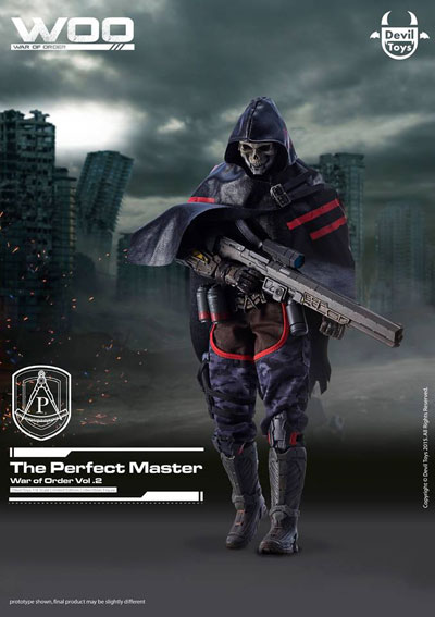 【Devil Toys】WOO vol 2 The Perfect Master (The add-on Providence Commander Costume) 1/6スケールフィギュア