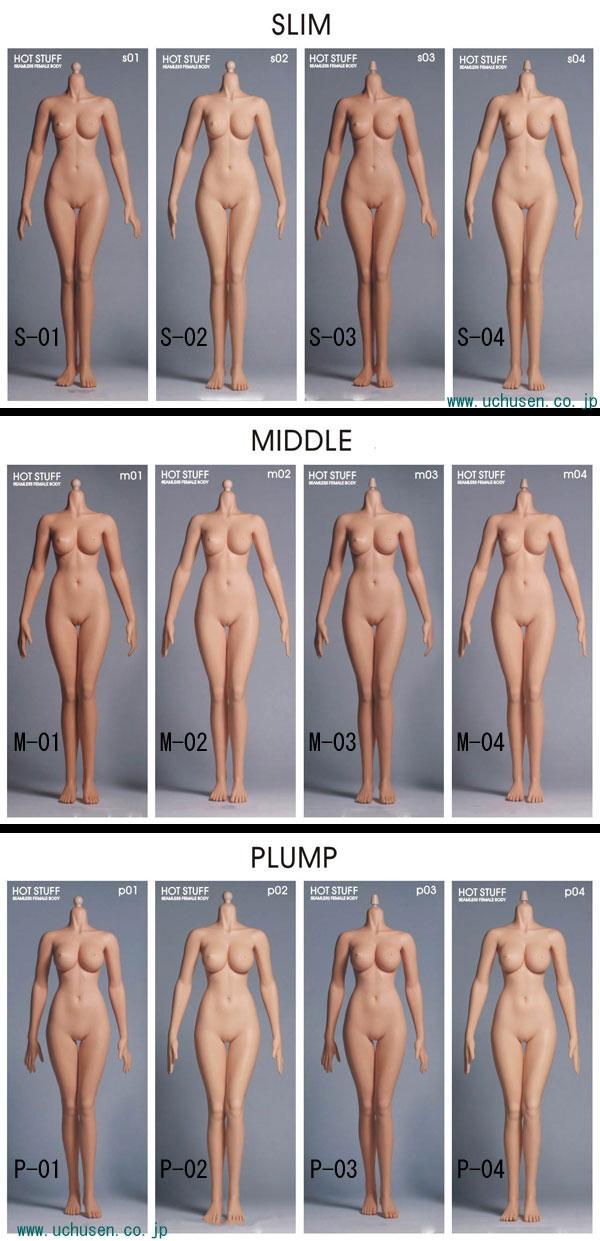 【EDATION】HOTSTUFF 1:6 The Third-Generation Female Seamless Body 3.0 1/6スケール シームレス女性ボディフィギュア