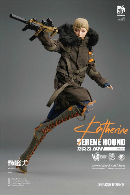 【i8TOYS】1/6 NO.72C323 KATHERINE Serene Hound Troop キャサリン シレーヌ・ハウンド 1/6スケール女性フィギュア