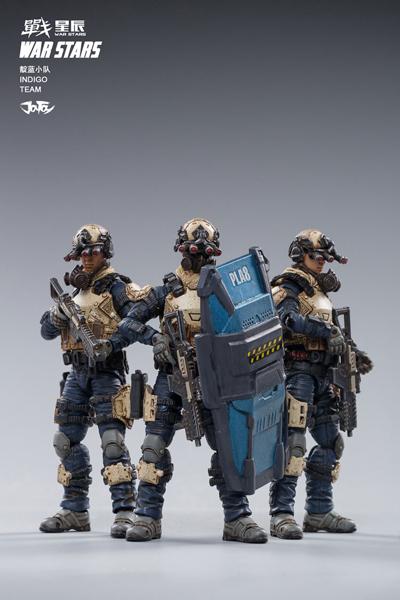 【JOYTOY】1/18 WAR STARS Starhawk 8th Army Indigo Fleet