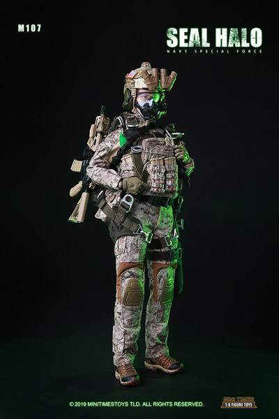 【MiniTimesToys】MT-M017 1/6 Navy Special Force Seal Halo アメリカ海軍特殊部隊 女性隊員 1/6スケールフィギュア