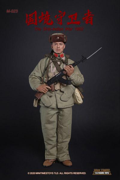 【MiniTimesToys】MT-M023 1/6 The Sino-Indian War 1962 中印国境紛争 中国軍 国境守衛者 1/6スケールフィギュア