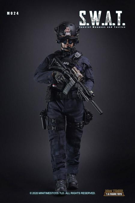 【MiniTimesToys】MT-M024 1/6 SWAT 2.0 Special Weapons And Tactics 特殊火器戦術部隊 1/6スケールフィギュア
