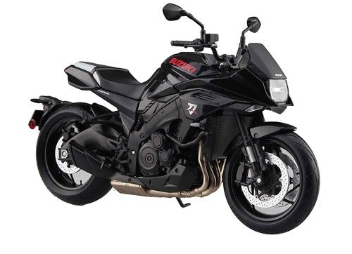 【スカイネット】1/12スケール 完成品バイク SUZUKI GSX-S1000S KATANA カタナ グラススパークルブラック